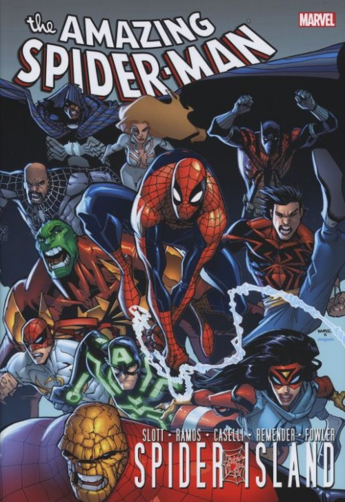 Couverture de Amazing Spider-Man (The) (TPB) -INTHC- Spider-Island