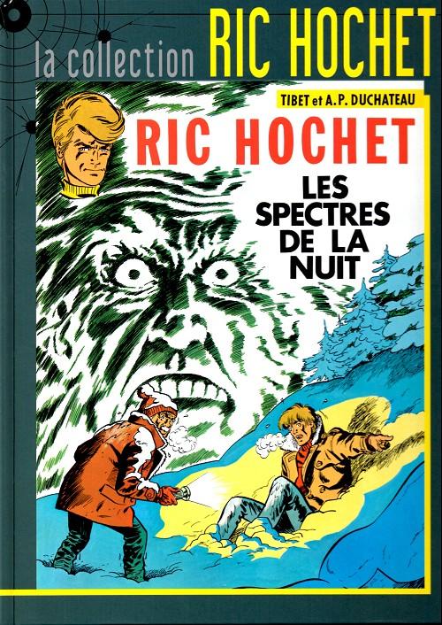 Couverture de Ric Hochet - La collection (Hachette) -12- Les spectres de la nuit