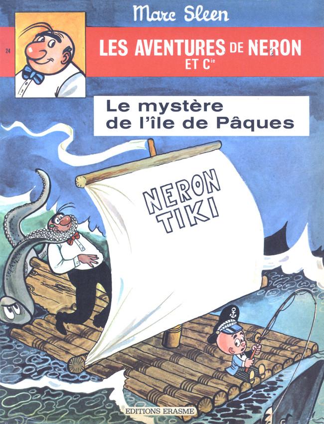 Couverture de Néron et Cie (Les Aventures de) (Érasme) -24- Le mystère de l'île de pâques