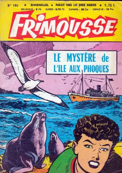 Couverture de Frimousse et Frimousse-Capucine -191- Le mystère de l'île aux phoques