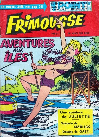 Couverture de Frimousse et Frimousse-Capucine -20615- Aventures aux îles