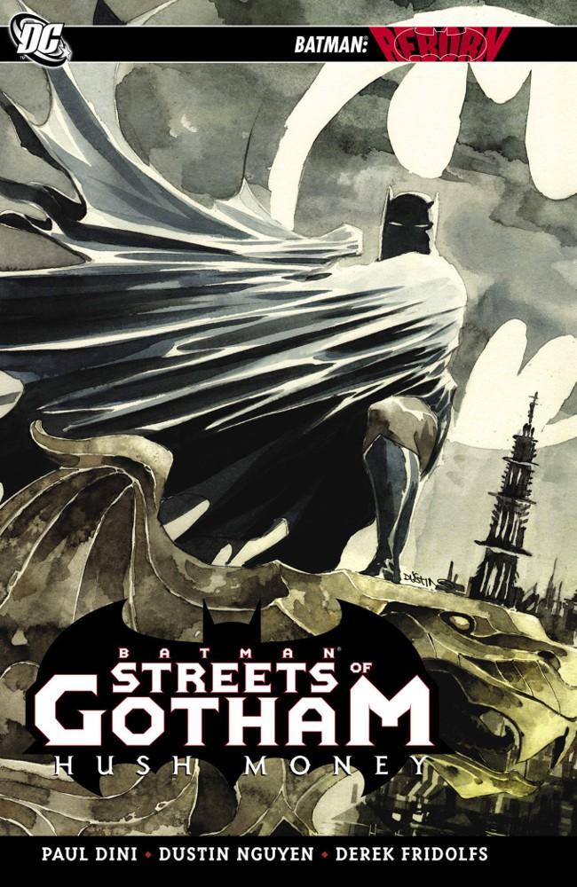 Couverture de Batman: Streets of Gotham (2009) -INT1- Hush Money