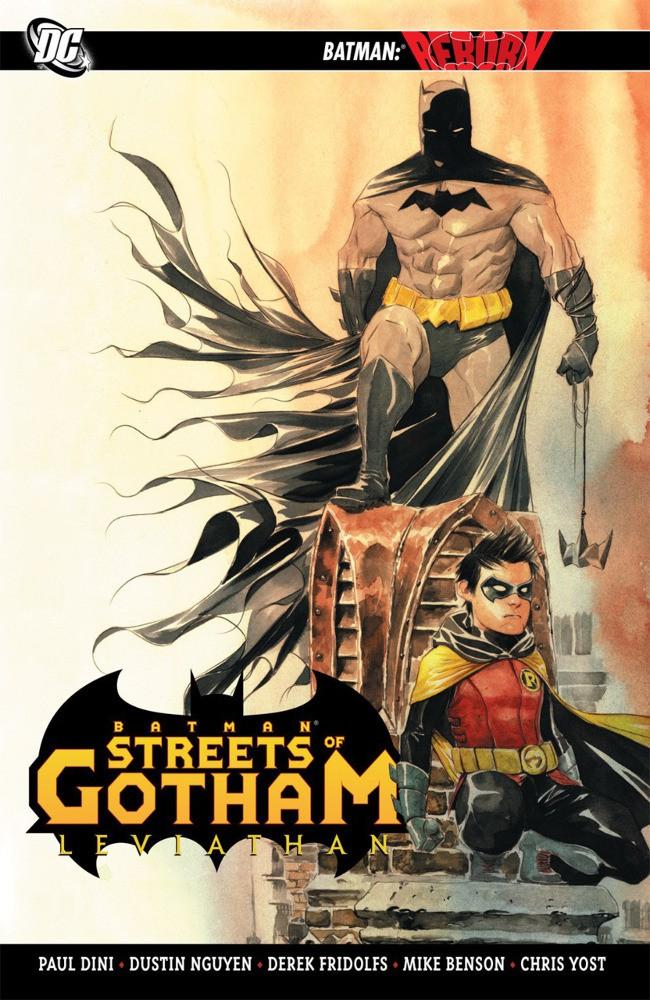 Couverture de Batman: Streets of Gotham (2009) -INT2- Leviathan