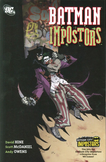 Couverture de Detective Comics Vol 1 (1937) -INT- Batman : Impostors