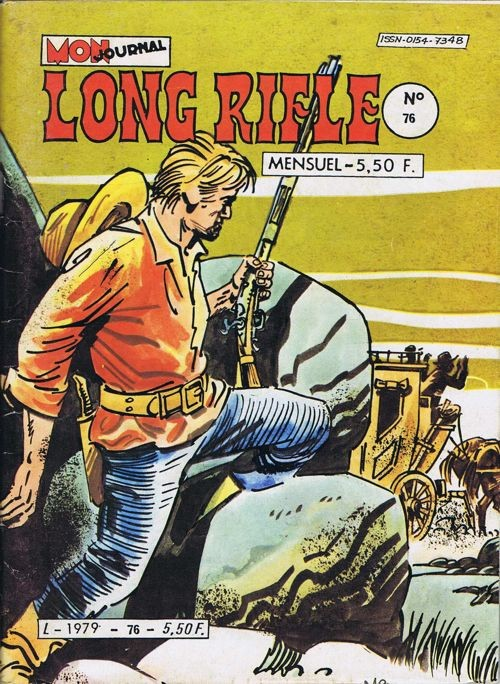 Couverture de Long Rifle -76-