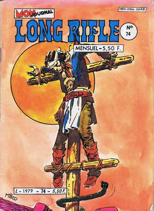 Couverture de Long Rifle -74-