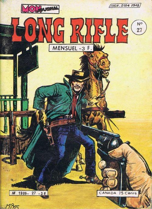 Couverture de Long Rifle -27- Ranchero !