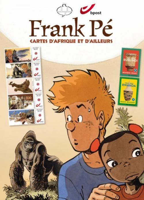 Couverture de (AUT) Frank (Pé) -TL- Frank Pé - Cartes d'Afrique et d'ailleurs