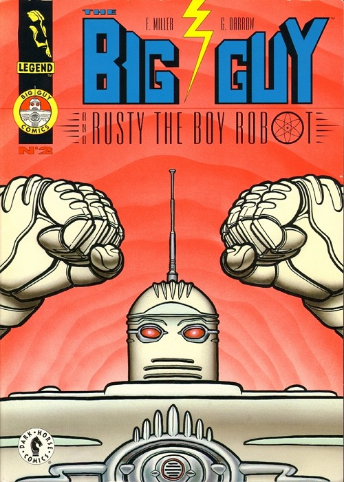 Couverture de Big Guy and Rusty the Boy Robot (The) (1995) -2- The big guy kicks butt!
