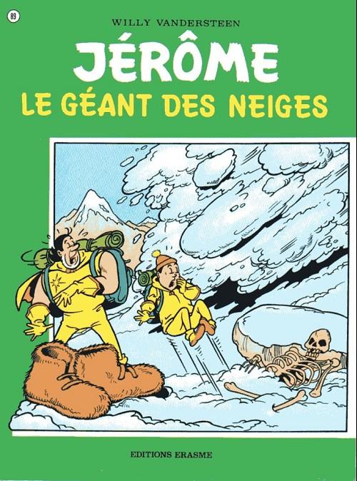 Couverture de Jérôme -89- Le géant des neiges