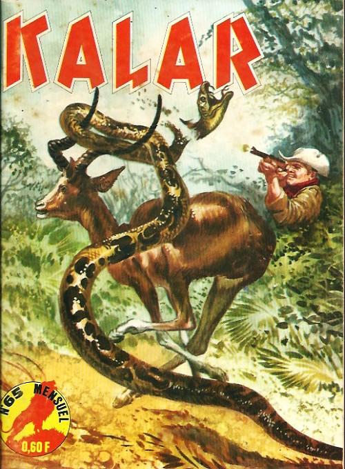 Couverture de Kalar -65- Les provocateurs