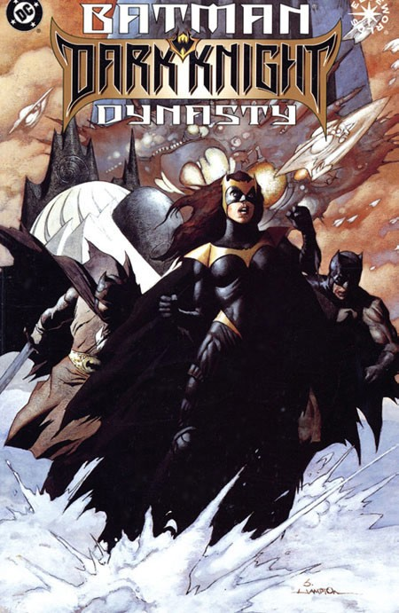 Couverture de Batman (One shots - Graphic novels) -GN- Batman: Dark Knight Dynasty