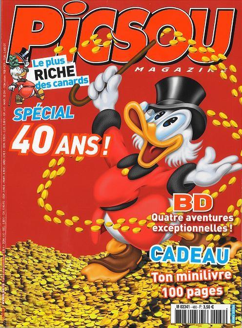 Couverture de Picsou Magazine -480- Picsou Magazine n° 480