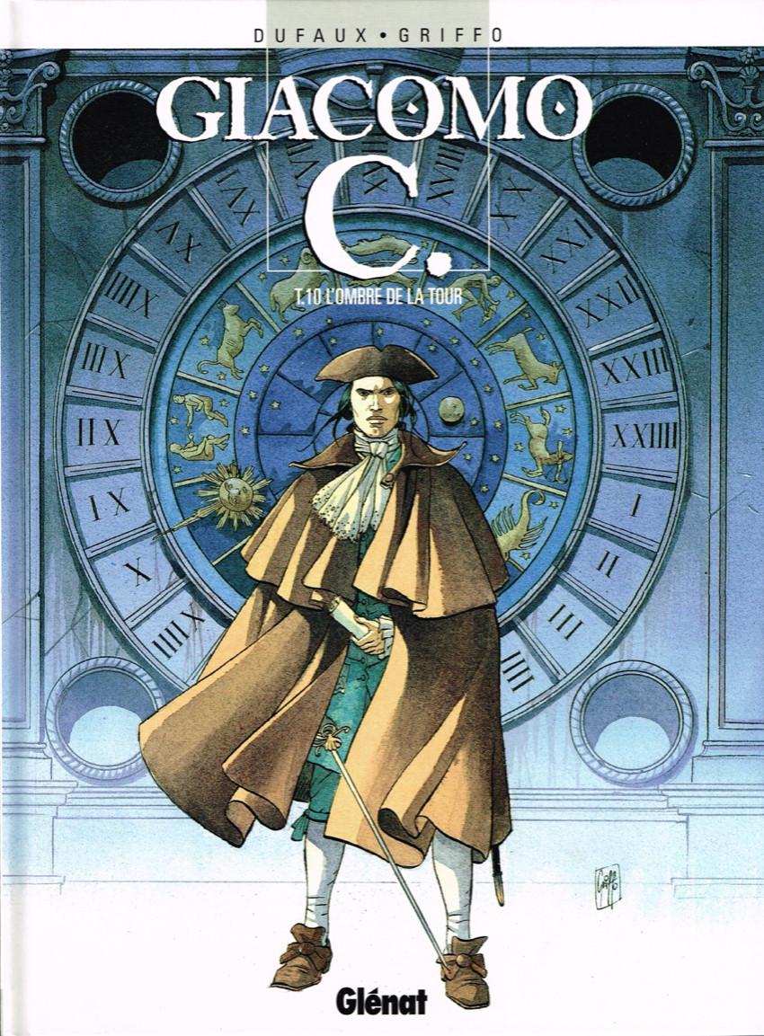 Couverture de Giacomo C. -10- L'ombre de la tour