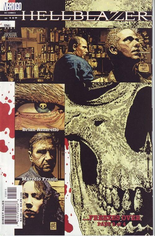 Couverture de Hellblazer (DC comics - 1988) -159- ...freezes over (2)