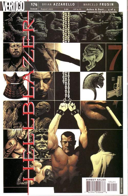 Couverture de Hellblazer (DC comics - 1988) -174- Ashes and dust (5)