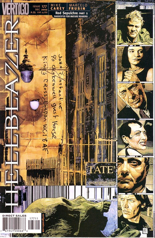 Couverture de Hellblazer (DC comics - 1988) -177- Red sepulchre (1)