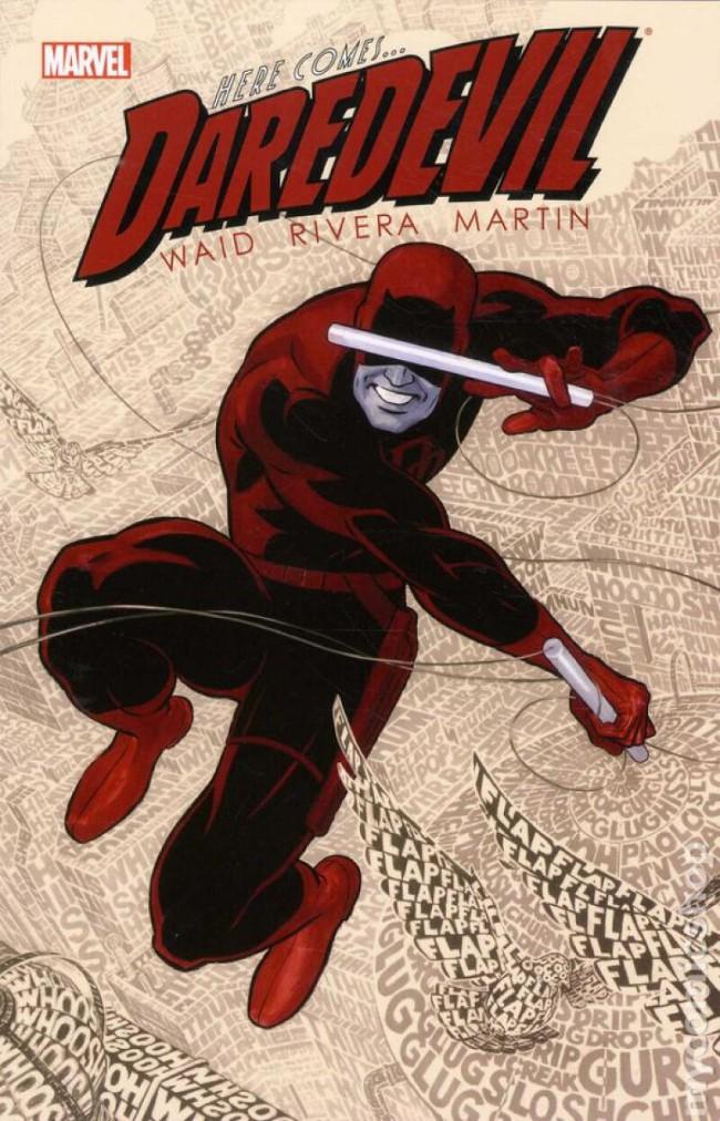 Couverture de Daredevil Vol. 3 (Marvel - 2011) -INT1- Daredevil by Mark Waid volume 1