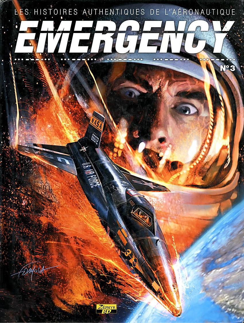 Couverture de Emergency - Les Histoires authentiques de l'aéronautique -3- N°3