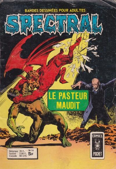 Couverture de Spectral (1re série) -14- Le pasteur maudit