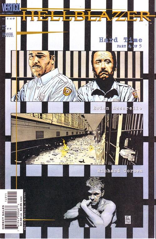 Couverture de Hellblazer (DC comics - 1988) -149- Hard times (4)