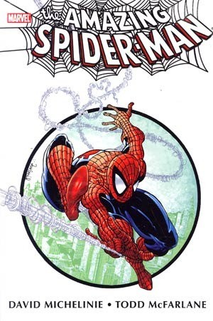 Couverture de Amazing Spider-Man (The) (TPB) -INTHC- Amazing Spider-Man by David Michelinie & Todd McFarlane Omnibus