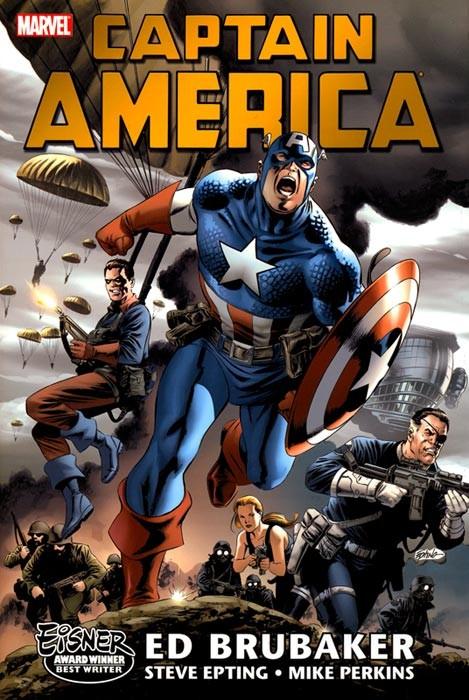 Couverture de Captain America (2005) -OMN01- Volume 1 Omnibus