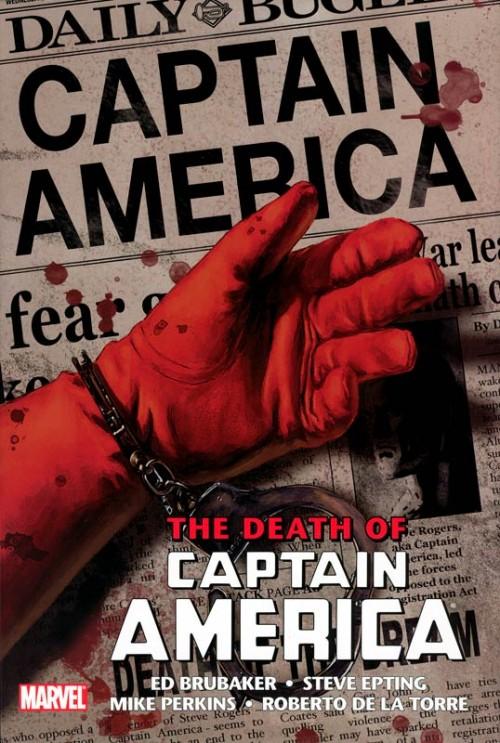 Couverture de Captain America (2005) -OMN02- The Death of Captain America