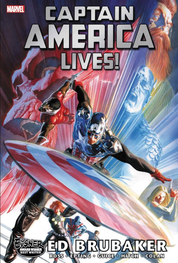 Couverture de Captain America (2005) -OMN03- Captain America lives!