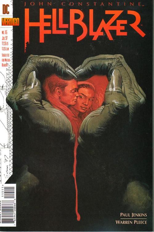 Couverture de Hellblazer (DC comics - 1988) -115- In the red corner