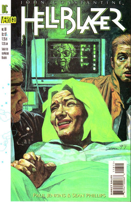 Couverture de Hellblazer (DC comics - 1988) -118- Life and death and taxis