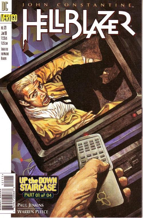 Couverture de Hellblazer (DC comics - 1988) -121- Up the down staircase (1)