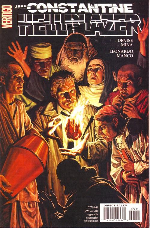 Couverture de Hellblazer (DC comics - 1988) -227- The red right hand (4)