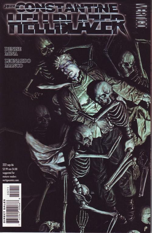 Couverture de Hellblazer (DC comics - 1988) -222- Empathy is the enemy (7)