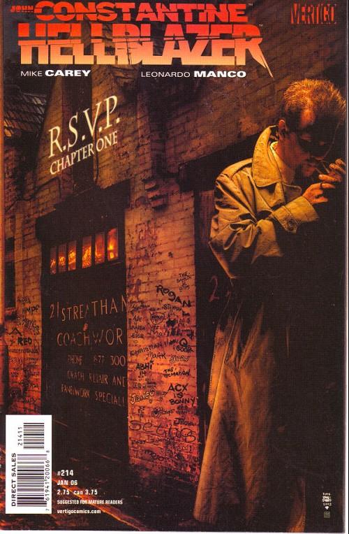 Couverture de Hellblazer (DC comics - 1988) -214- R.S.V.P. (1)