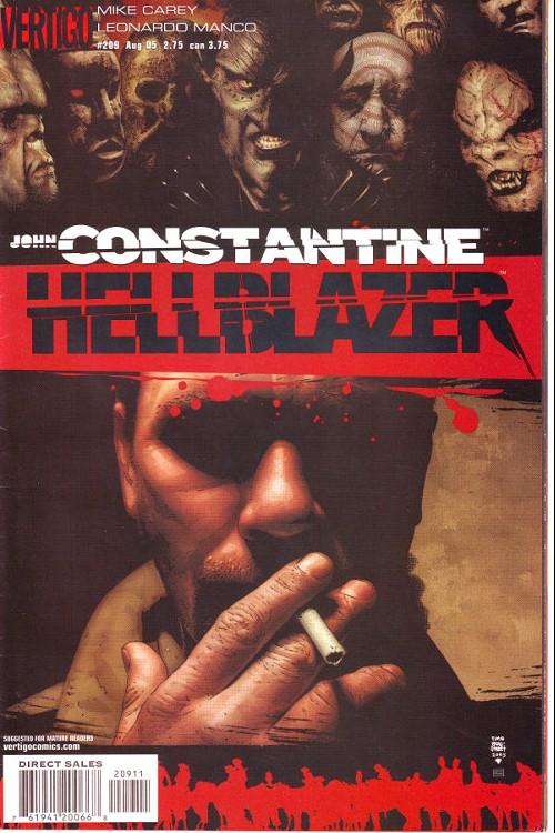 Couverture de Hellblazer (DC comics - 1988) -209- Down in the ground where the dead men go (3)