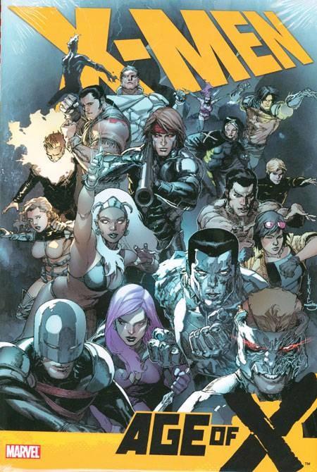 Couverture de X-Men (TPB) -INT- X-Men: Age of X