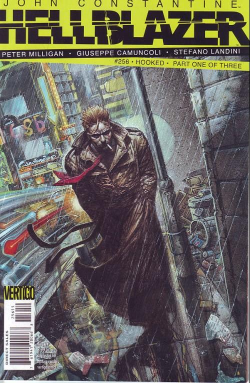 Couverture de Hellblazer (DC comics - 1988) -256- Hooked (1)