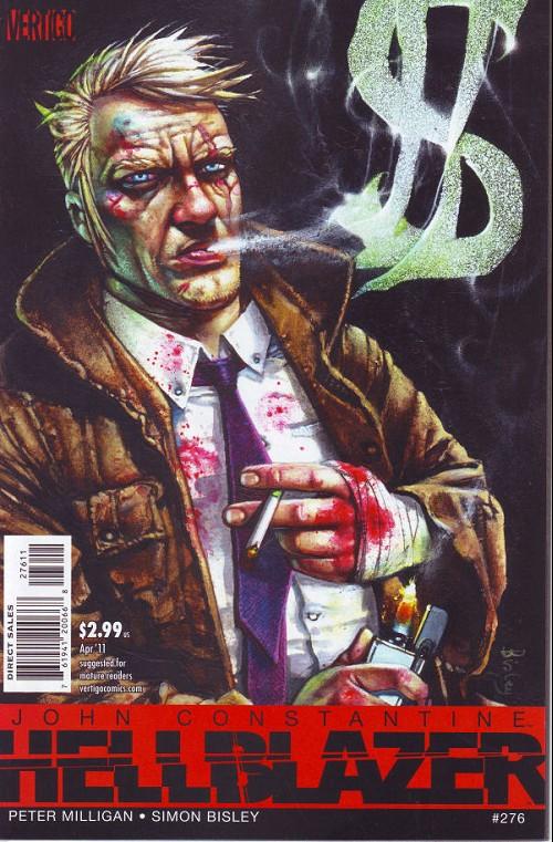 Couverture de Hellblazer (DC comics - 1988) -276- High frequency man