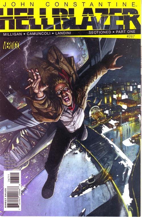 Couverture de Hellblazer (DC comics - 1988) -267- Sectioned (1)