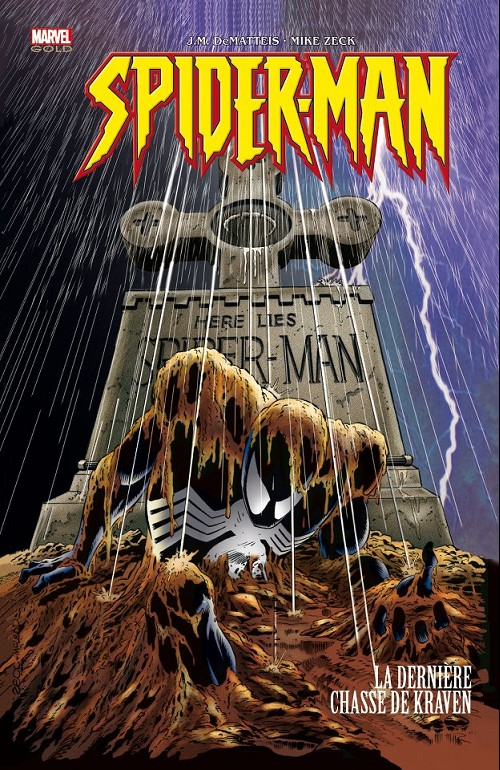 Couverture de Marvel Gold -3- Spider-Man : la dernière chasse de Kraven