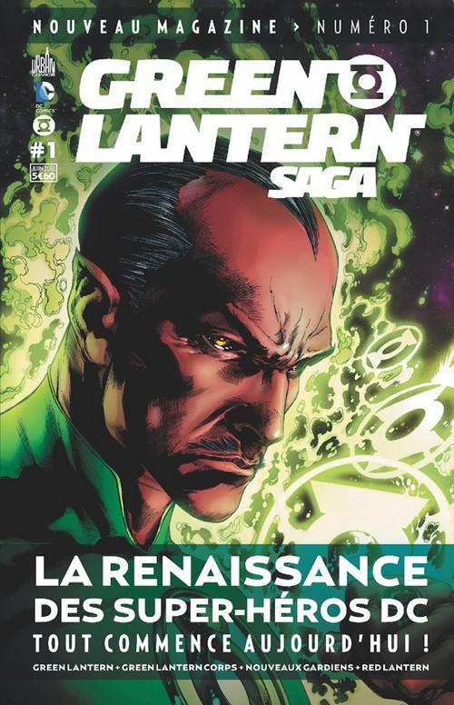 Couverture de Green Lantern Saga -1- La renaissance des super-héros DC