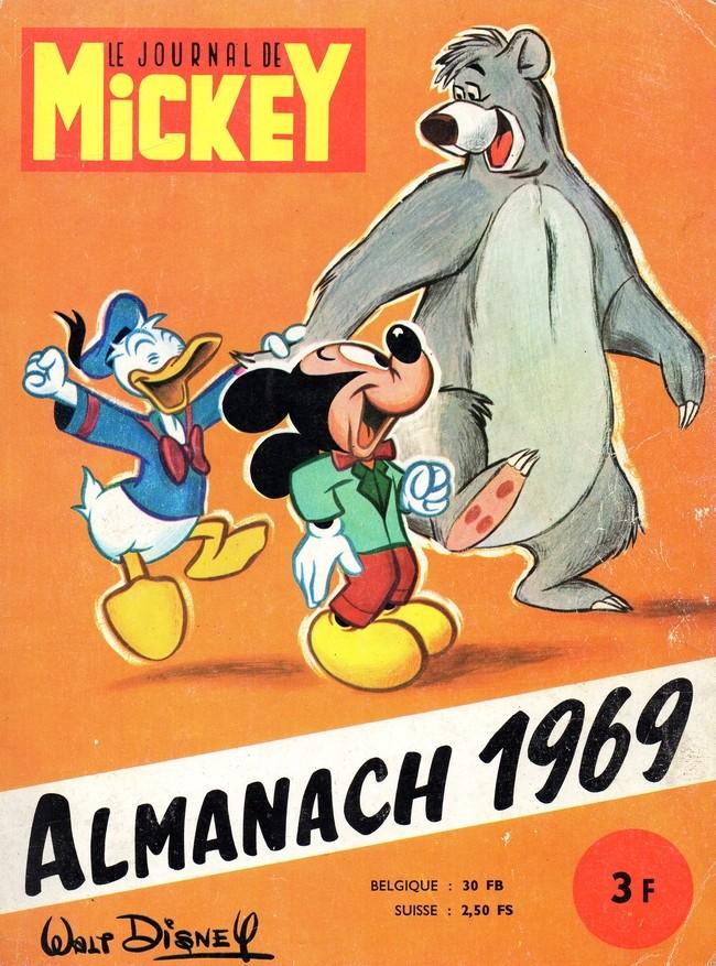 Couverture de Almanach du Journal de Mickey -13- Année 1969