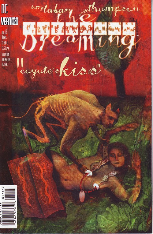 Couverture de Dreaming (The) (1996) -13- Coyote's kiss (1)