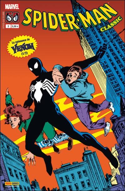 Couverture de Spider-Man Classic -2- La naissance de Venom (1/2)