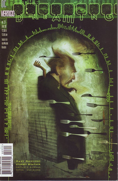 Couverture de Dreaming (The) (1996) -27- Many mansions (1): stormy weather