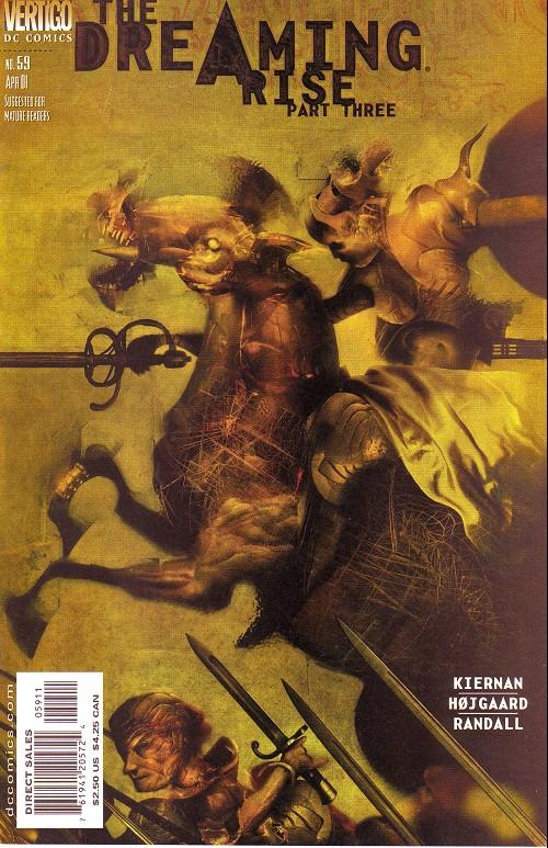 Couverture de Dreaming (The) (1996) -59- Rise (3): the prodigals