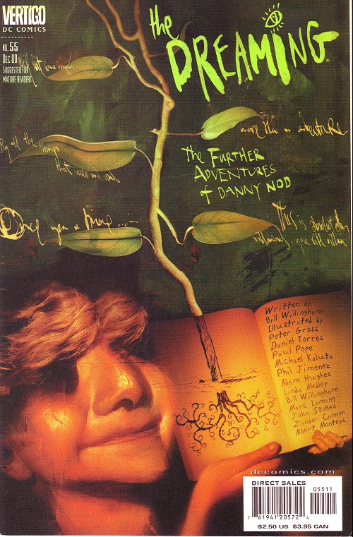 Couverture de Dreaming (The) (1996) -55- The further adventures of Danny Nod