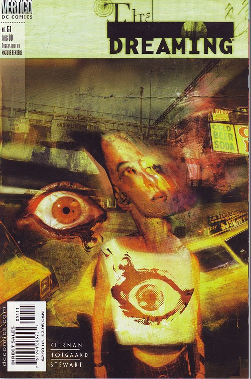 Couverture de Dreaming (The) (1996) -51- Second sight