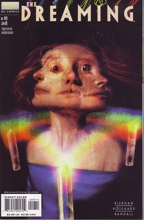 Couverture de Dreaming (The) (1996) -49- Shatter